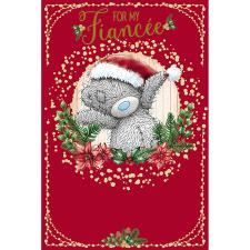 Fiancee Me To You Bear Christmas Card