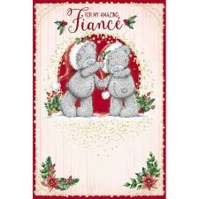 Amazing Fiance Me To You Bear Christmas Card