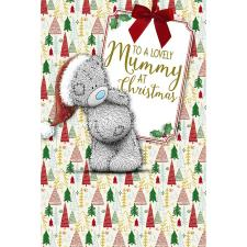 Lovely Mummy Me To You Bear Christmas Card
