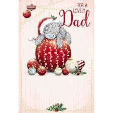 Lovely Dad Me To You Bear Christmas Card