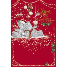 Son & Daughter In Law Me To You Bear Christmas Card