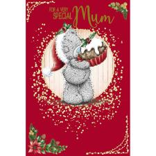 Special Mum Holding Mince Pie Me To You Bear Christmas Card