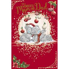 Wonderful Mam & Dad Me To You Bear Christmas Card