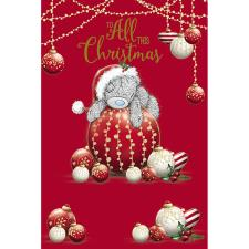 To All This Christmas Me To You Bear Christmas Card