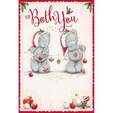 To Both Of You Me To You Bear Christmas Card