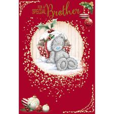 Special Brother Me To You Bear Christmas Card