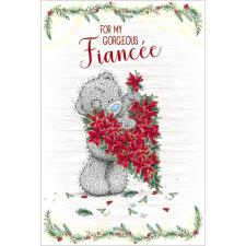 Gorgeous Fiancée Me to You Bear Christmas Card