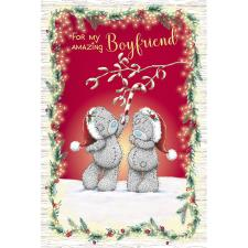 Amazing Boyfriend Me to You Bear Christmas Card