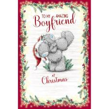 To My Amazing Boyfriend Me to You Bear Christmas Card