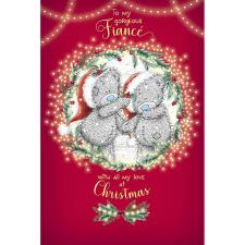 Gorgeous Fiancé Me to You Bear Christmas Card