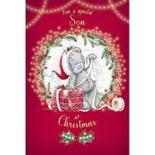 Special Son Me to You Bear Christmas Card
