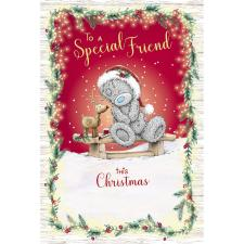 To A Special Friend Me to You Bear Christmas Card