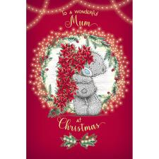 Wonderful Mum Me to You Bear Christmas Card