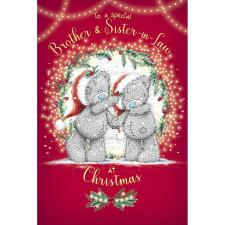 Brother & Sister In Law Me to You Bear Christmas Card