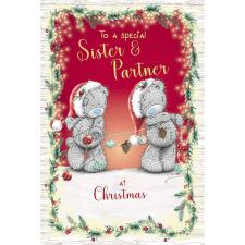 Sister & Partner Me to You Bear Christmas Card