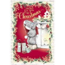 Especially For You Hanging Stocking Me to You Bear Christmas Card