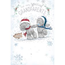 Special Grandparents Me to You Bear Christmas Card