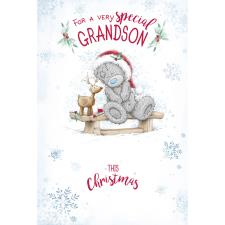 Special Grandson Me to You Bear Christmas Card