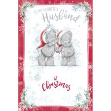 Wonderful Husband Me to You Bear Christmas Card