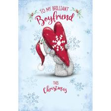 Brilliant Boyfriend Me to You Bear Christmas Card
