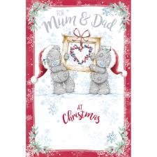 For Mum & Dad Me to You Bear Christmas Card