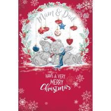Mam & Dad Me to You Bear Christmas Card