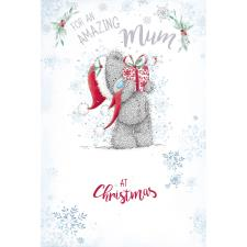 Amazing Mum Me to You Bear Christmas Card