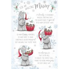 Amazing Mum Verse Me to You Bear Christmas Card