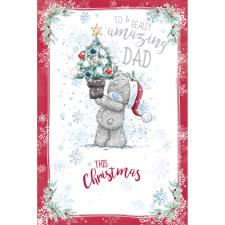 Amazing Dad Me to You Bear Christmas Card