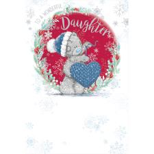 Wonderful Daughter Me to You Bear Christmas Card
