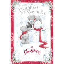 Special Daughter & Son In Law Me To Bear Christmas Card