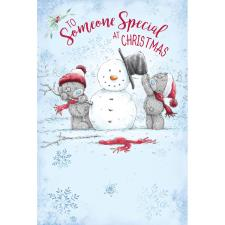 Someone Special Me to You Bear Christmas Card