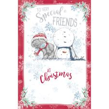 Special Friends Me to You Bear Christmas Card