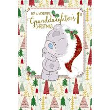 Granddaughters 1st Tiny Tatty Teddy Me to You Bear Christmas Card