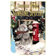 Someone Special Photo Finish Me To You Bear Christmas Card