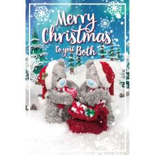 To You Both Photo Finish Me to You Bear Christmas Card