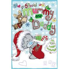 Special Mummy & Daddy My Dinky Me to You Bear Christmas Card