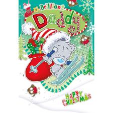 Brilliant Daddy My Dinky Bear Me to You Bear Christmas Card