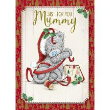 Just For You Mummy Me To You Bear Christmas Card