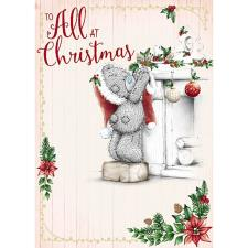 To All At Christmas Me To You Bear Christmas Card