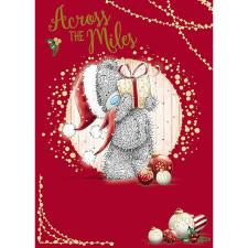 Across The Miles Me To You Bear Christmas Card