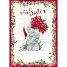 Special Sister Me to You Bear Christmas Card