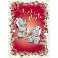 Lovely Aunt & Uncle Me to You Bear Christmas Card