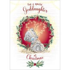 Special Goddaughter Me to You Bear Christmas Card