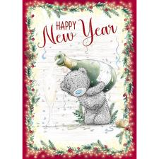 Happy New Year Me to You Bear Christmas Card