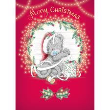 Tatty Teddy Tangled In Ribbon Me to You Bear Christmas Card