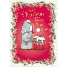 Tatty Teddy With Cupcake Me to You Bear Christmas Card