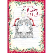 Lovely Aunty & Uncle Me to You Bear Christmas Card