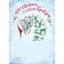 Brilliant Godson Me to You Bear Christmas Card