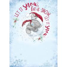 Let It Snow Me to You Bear Christmas Card